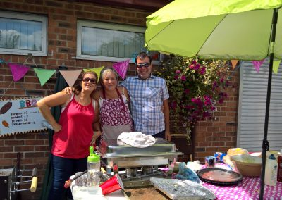 BBQ Team at SHARP Fete
